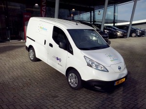 100% elektrisch ZonZuiver transport